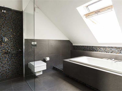 Why are tiles so popular for bathrooms?