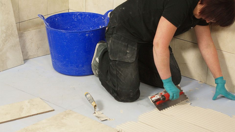 Selecting the best flexible tile adhesive